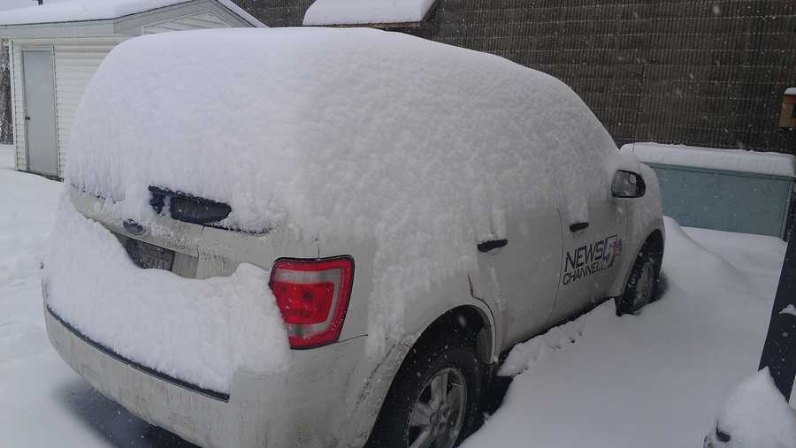 I don't want to shovel this off.