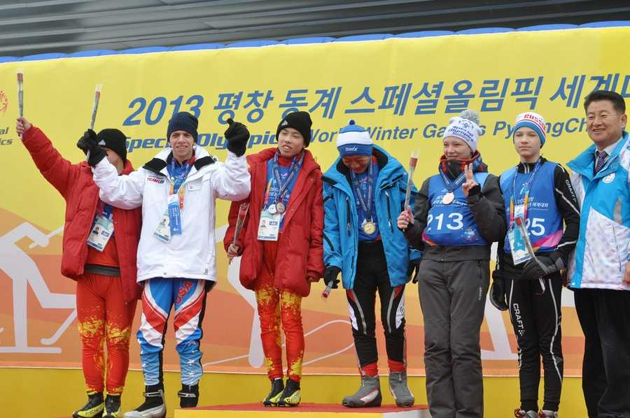 Josh Beaupre took 4th place in cross country skiing at the 2013 Special Olympics World Winter Games held in South Korea.
