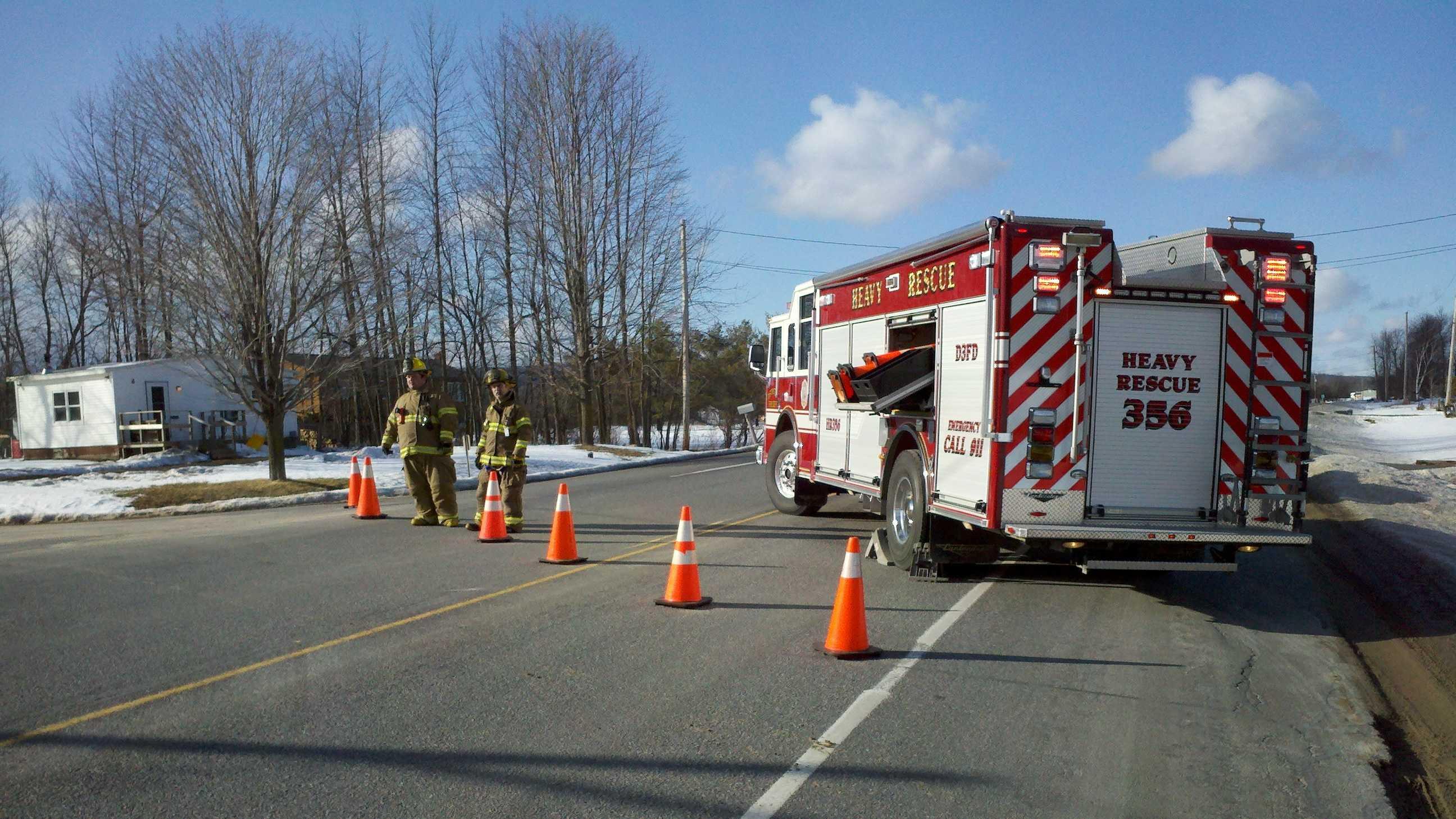 021513 One dead in Beekmantown crash - img