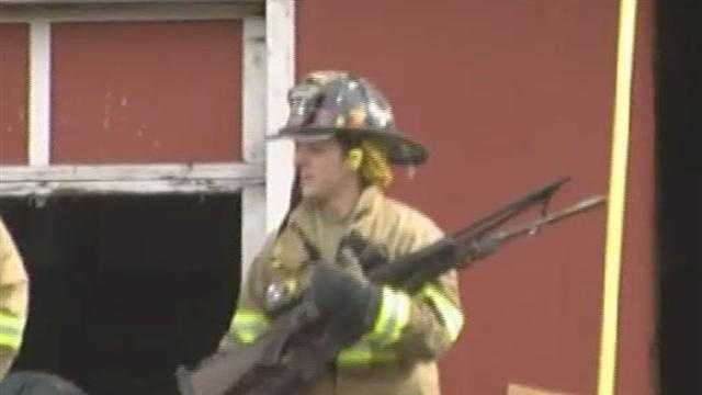 021913 Rutland Gun Shop Fire