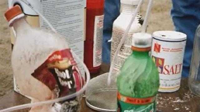 """One pot"" meth lab"