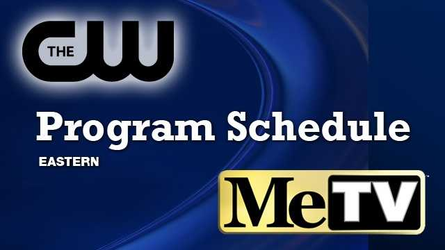 CW Program Schedule