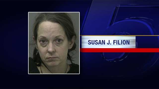 New York State Police are looking for Susan J. Filion. She is wanted on charges of possession and manufacturing meth.