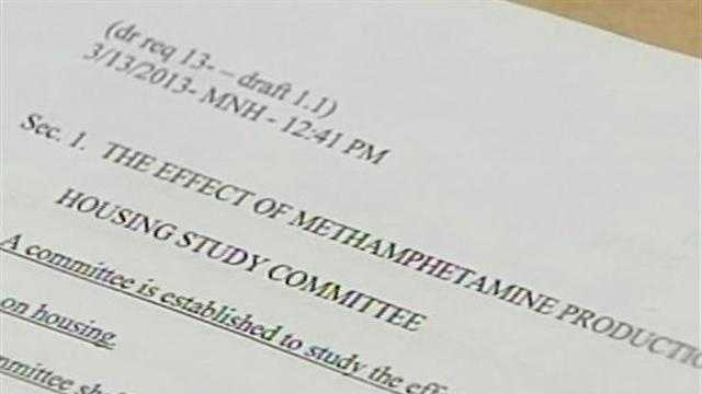 31513 Lawmakers look to create meth housing study committee
