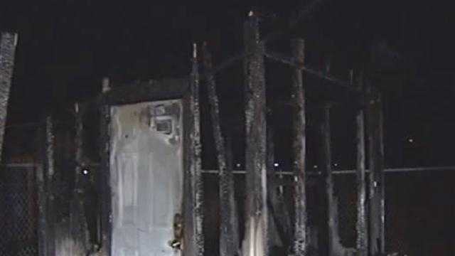 Essex Shed Fire
