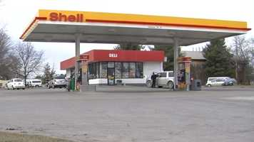 Police are searching for the man who robbed the Champlain Farms Shell station on Williston Road Saturday.