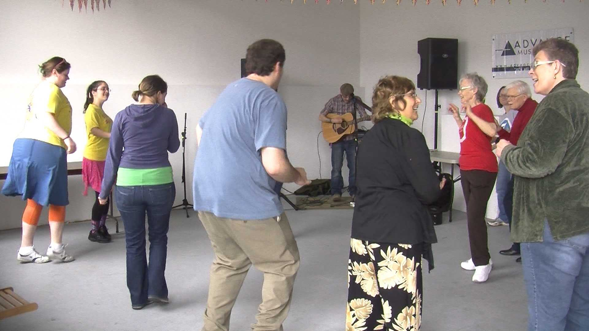 A group in Winooski is dancing non-stop for a cause and wants company.
