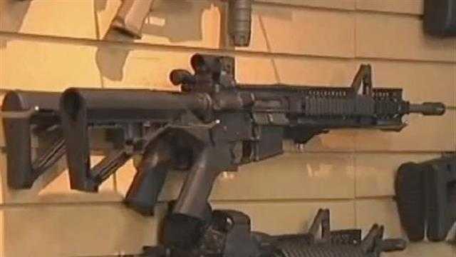 04-17-13 Gun rights groups ask to stop NY gun laws -- img