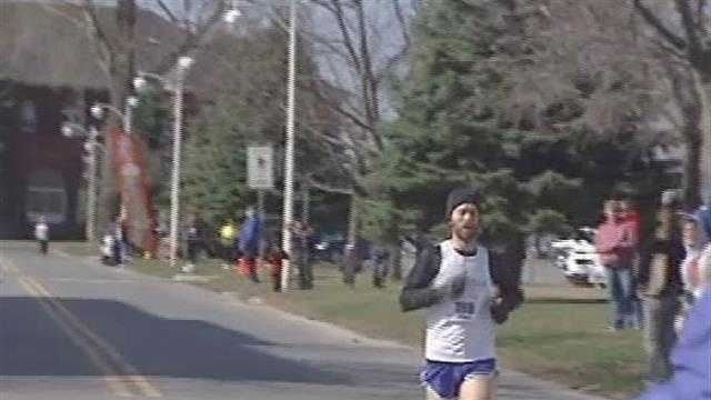 Jeremy Drowne, and Sara Dunham take home wins in the Plattsburgh half marathon.