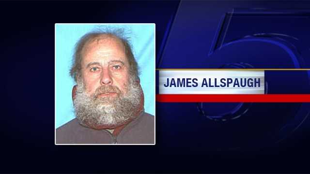 Police in Lincoln, Mass. are seeking the whereabouts of James Allspaugh. He was last seen on Monday, April 15, 2013 in Brownsville, Vermont.