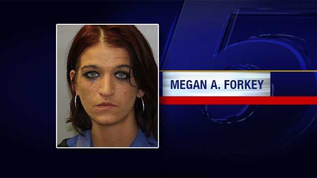 Megan A. Forkey, 27, Saranac, NY, was arrested Friday on the following charges:Criminal Sale Controlled Substance 4th (Class C Felony) Criminal Possession Controlled Substance 5th (Class D Felony)