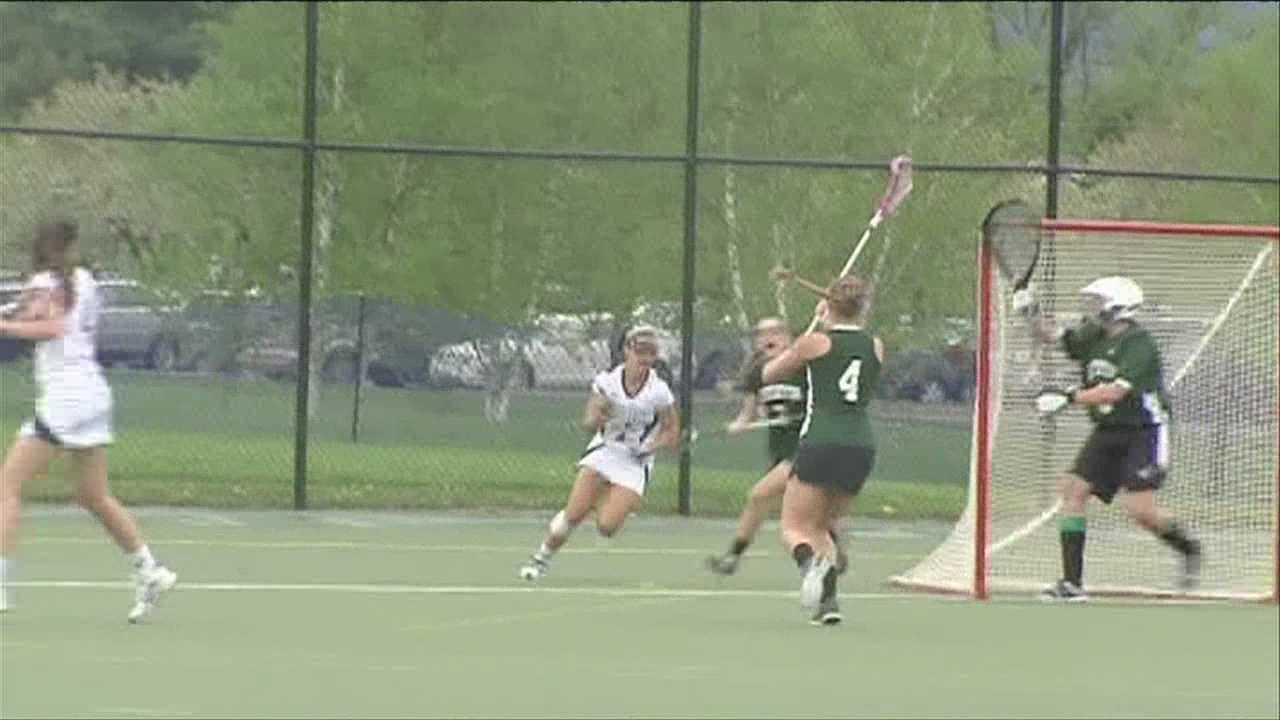The NCAA women's lacrosse tournament opens up with a Middlebury, Castleton