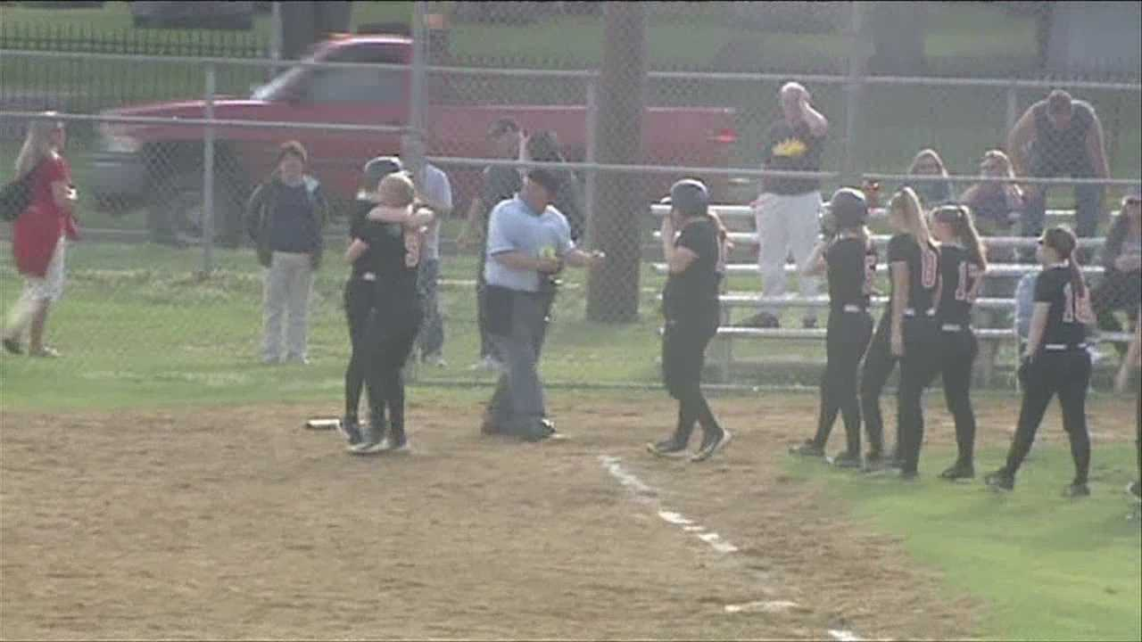 Plattsburgh high walks off winners on the softball diamond