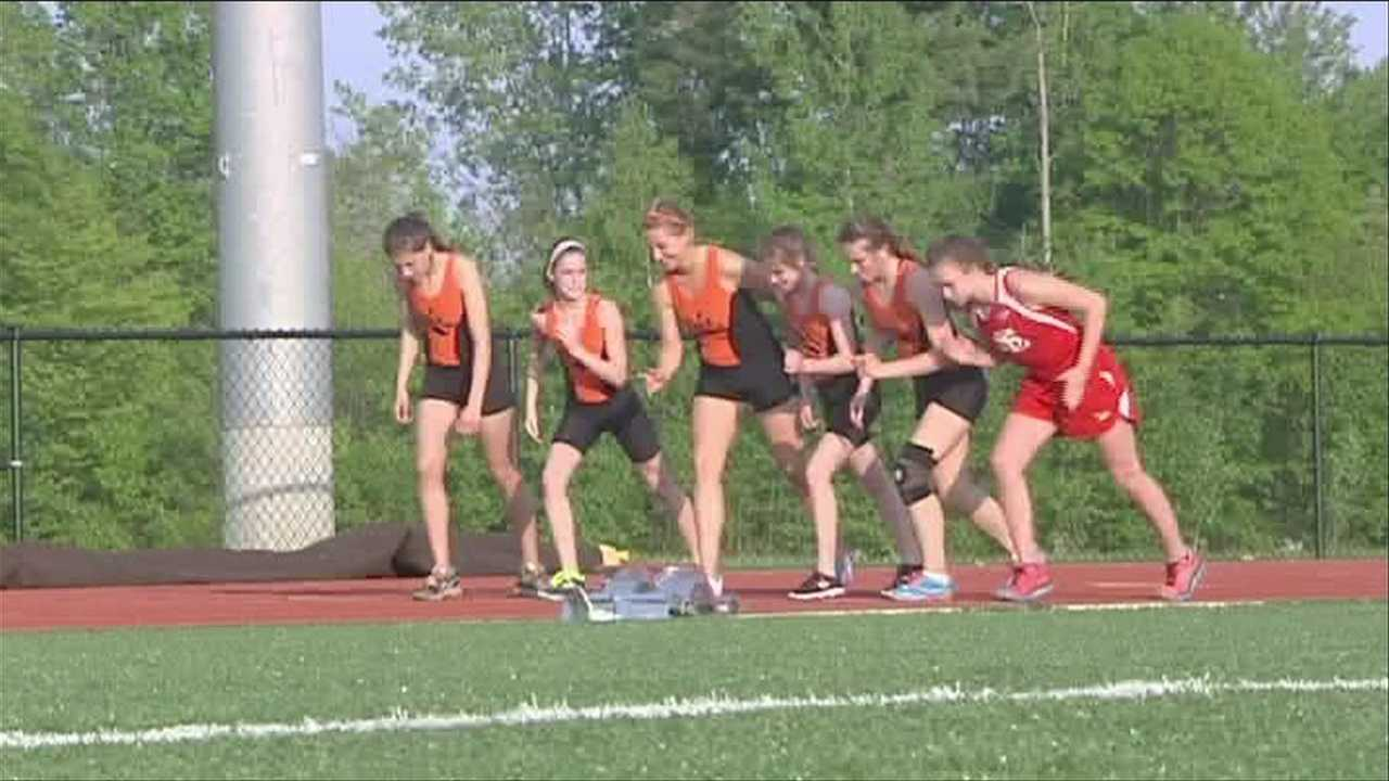 PHS, Saranac Lake Track and Field