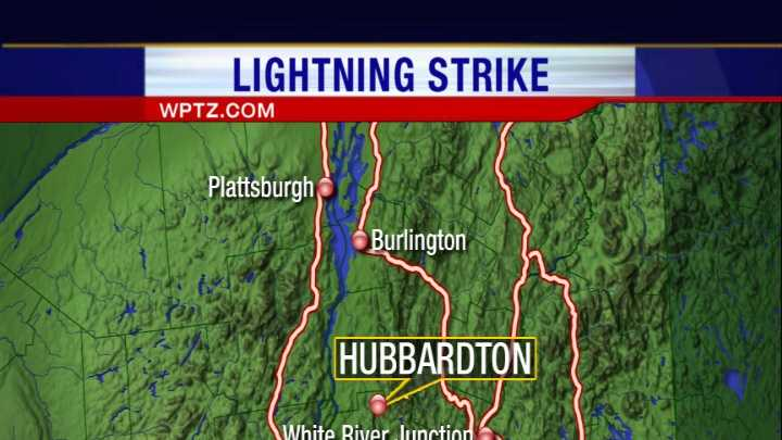 05-22-13 Person struck by lightning in Rutland County - img