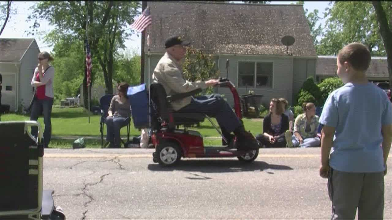 A Vermont Memorial Day parade puts three local vets at the forefront of festivities.