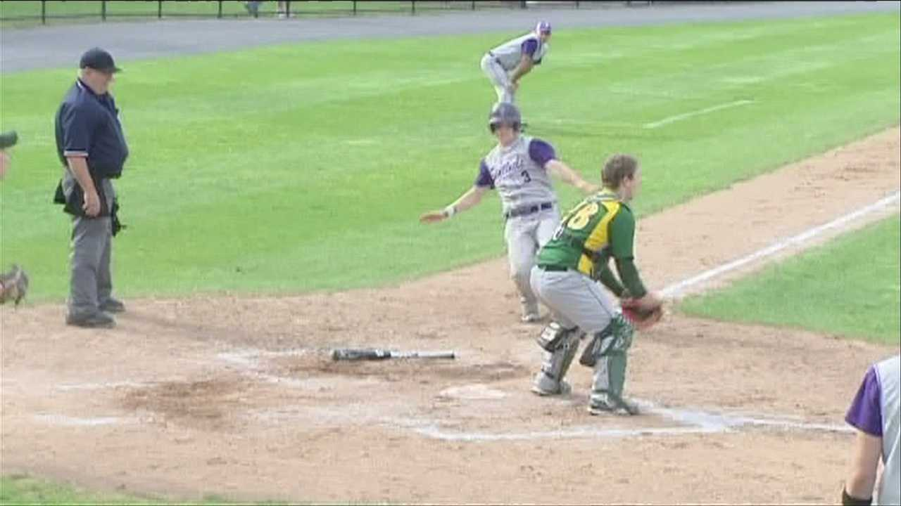 "Ticonderoga and NAC in the section 7 class ""C"" baseball championship game."