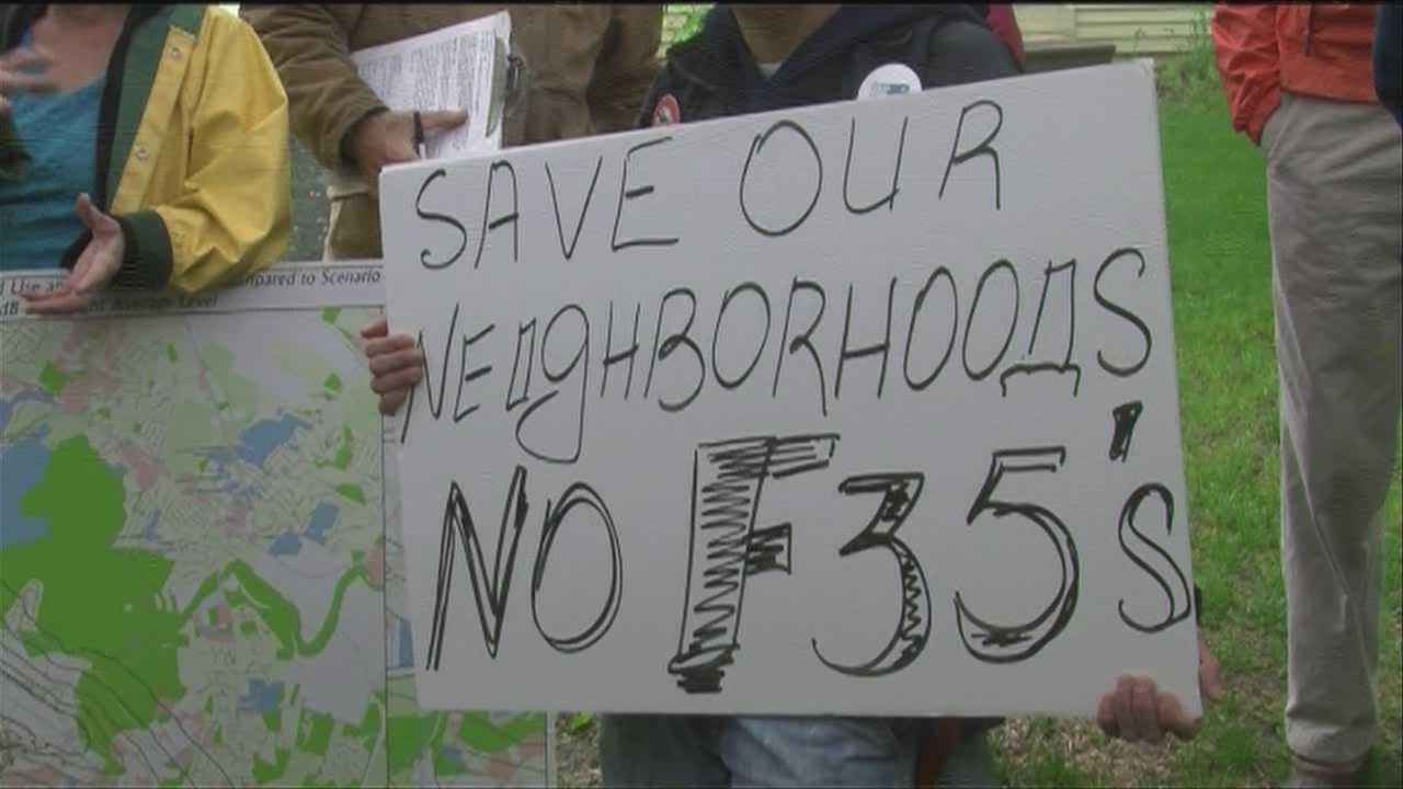 A local group raises new arguments against the basing of F-35 fighter jets in Vermont.