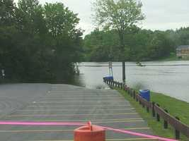 Boat launch, Cadyville,  New York