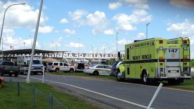 Hazmat incident investigated at border crossing