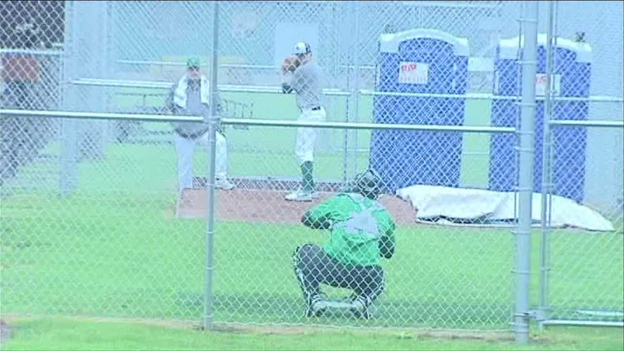 Lake Monsters surface for the 2013 baseball season.
