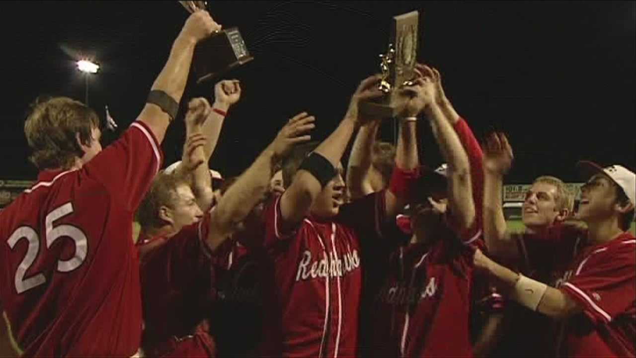 The redhawks win in 11 innings to defend their 2012 state title.