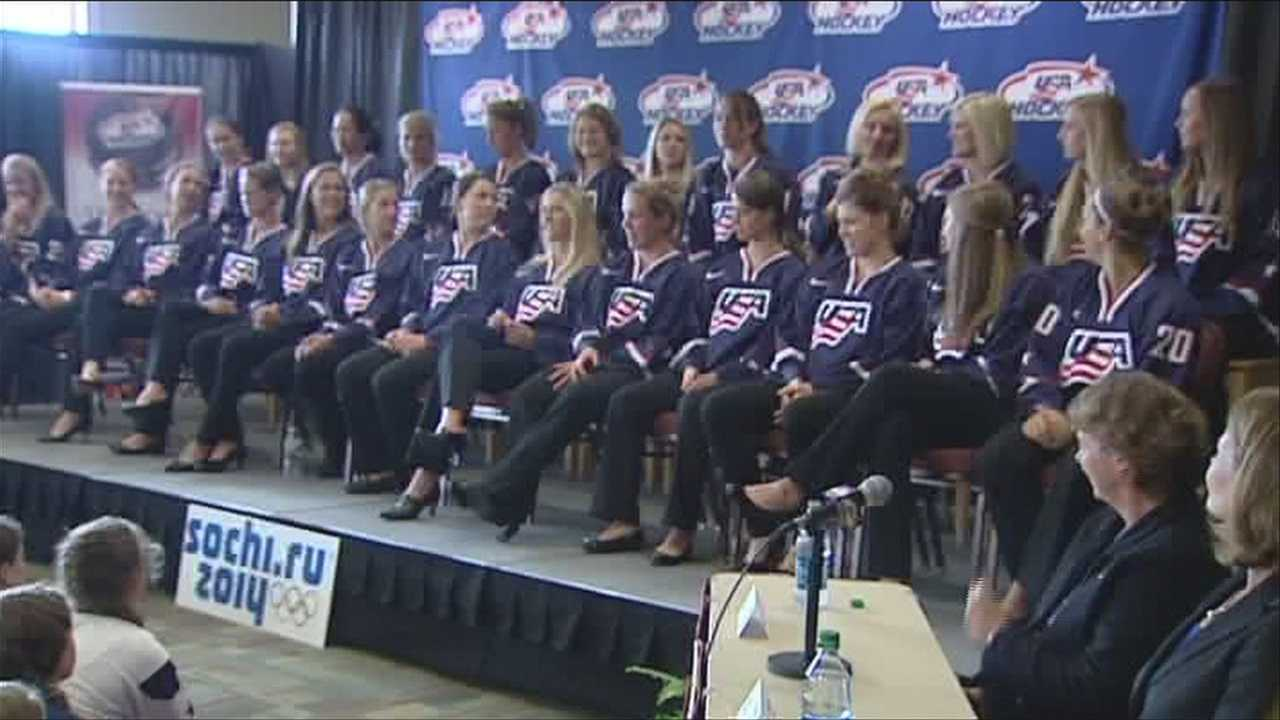 The US women's hockey team trims their roster from 41 down to 25.