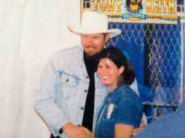One of my favorite country music stars is Toby Keith. I got to meet him when he came to the Champlain Valley Fair a few years ago.