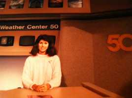 I started my on-air career as a news reporter and a weather caster.