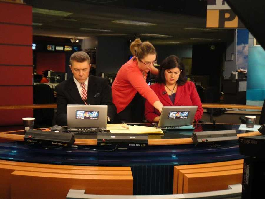 I've been teaching college courses in Broadcast Journalism, Writing for Television, Social Media in Broadcasting and more at a local college for the past 14 years. Some of the people who have come through my classes now work at WPTZ, including Executive Producer Caitlyn Bergeron.