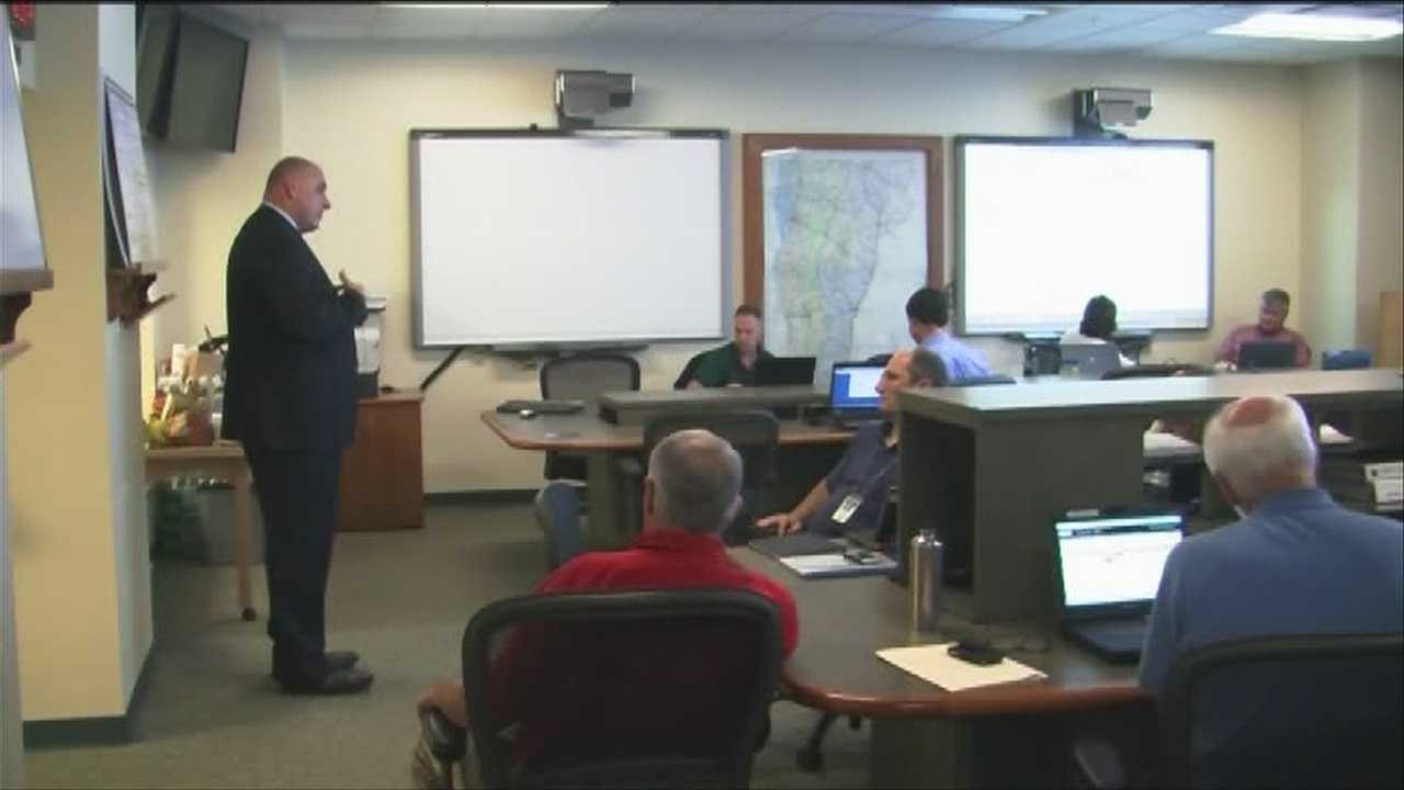 Vermont's Emergency Operations Center was activated at 7 p.m. Thursday ahead of a major rainstorm.