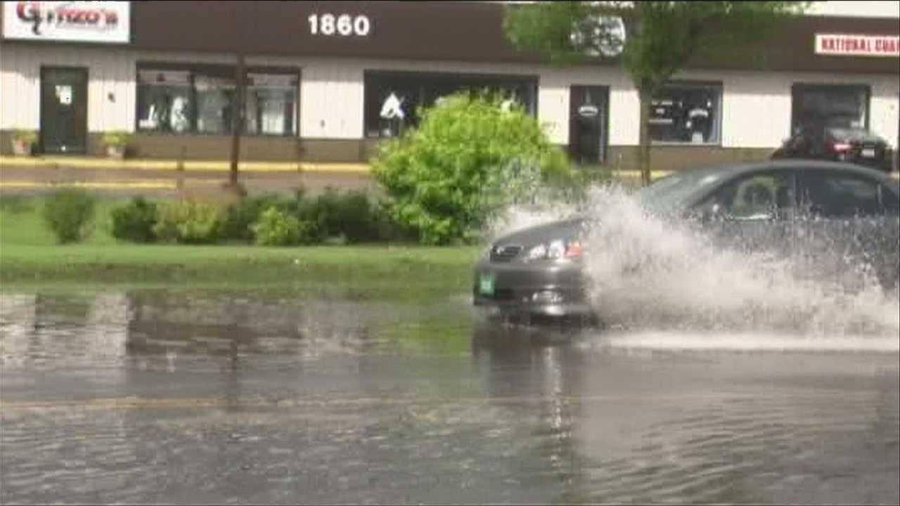 06-29-13 VT Streets Flood, cause driver headaches - img