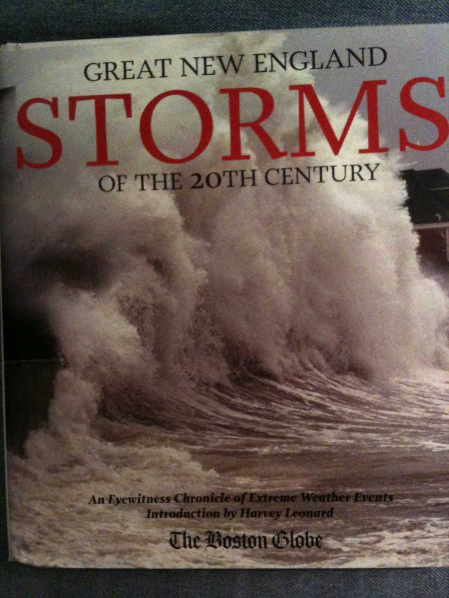 19.  In 2007, the Boston Globe published a book entitled GREAT NEW ENGLAND STORMS OF THE 20TH CENTURY. In it is a piece Tom wrote about the Great Ice Storm of '98.