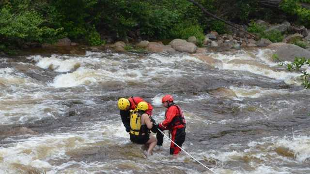 Woman dies after being swept away on Swift River