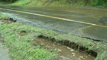 Water on Heater Road in Lebanon.