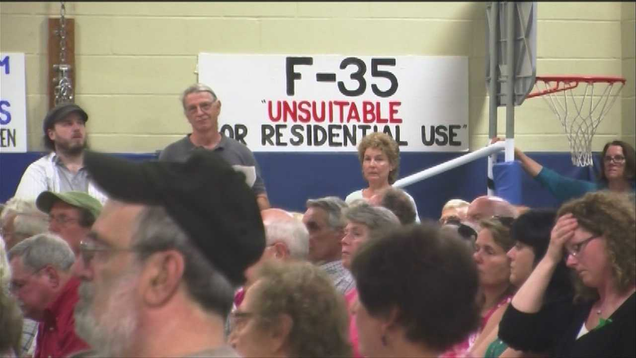 Both city councils in South Burlington and Winooski heard from neighbors and business owners about whether or not the panels should support or oppose the basing of the F-35 at Burlington's airport.