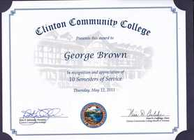 Currently, I am an Adjunct Professor of Meteorology for Clinton Community College and have been on campus since 2005. I instruct courses in Meteorology (what else) and Geology.