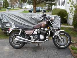 I have a small fleet of vintage motorcycles ranging in age from 1966 through 1983 and enjoy riding in the nice weather.