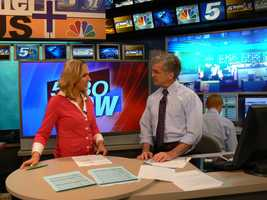 I anchored the 5:30 NOW show with Erin Connors and later, Gabrielle Komoroski.