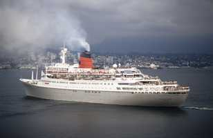 I worked summers for the Norwegian America Line (Now Cunard Line) as a container manager – a great summer job with lots of fun perks. I even got to carry payrolls to ships.