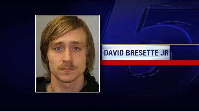 New York State Police in Plattsburgh want to speak with David B. Bresette, Jr. of Keeseville regarding a strong-armed robbery that occurred Saturday in the parking lot of Plattsburgh Wholesale Homes.