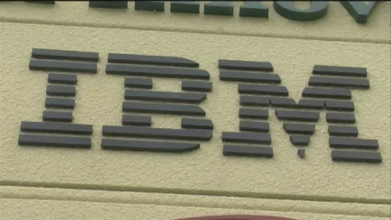 The Vermont Department of Labor says IBM has laid off 419 workers.
