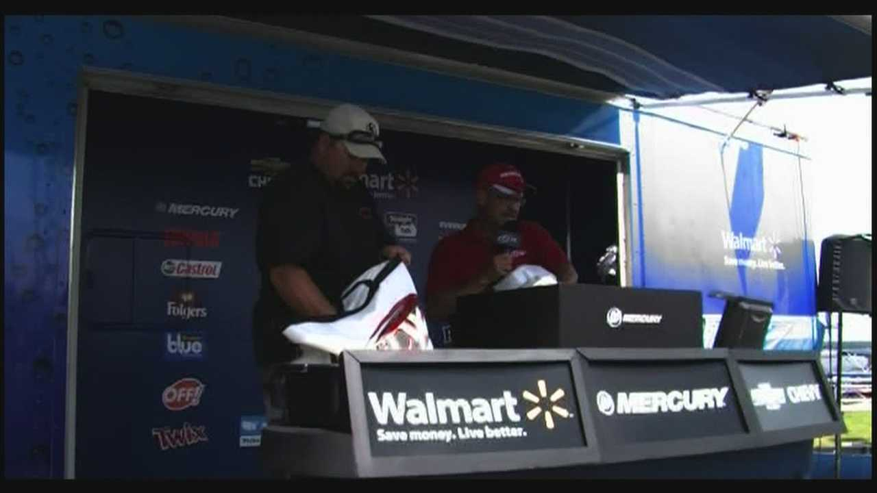 Fishing's finest compete in FLW Tournament