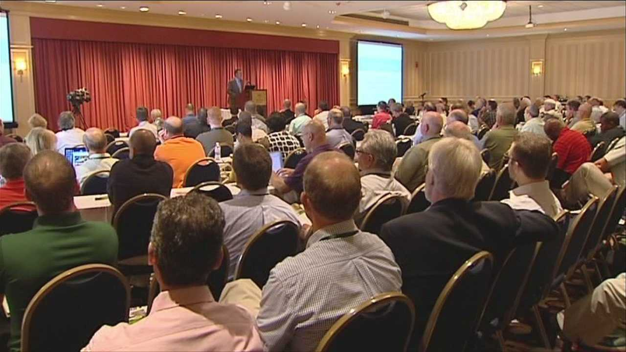 Transportation officials from Vermont and around the country convened in Burlington on Monday to talk about dramatic changes in weather and the best ways to keep on top of it.