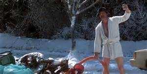 His favorite movie is National Lampoon's Christmas Vacation.