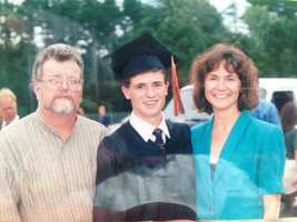 He had perfect attendance from the first day of Kindergarten to the day he graduated High School.
