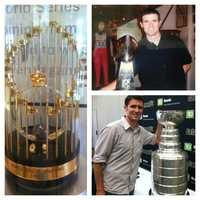 Ken has seen the World Series trophy, the Lombardi Trophy, and Stanley Cup in person. The hunt is on for the NBA championship hardware.