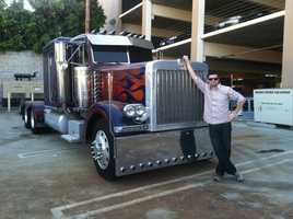 He has met the original Optimus Prime from the Transformers movies.