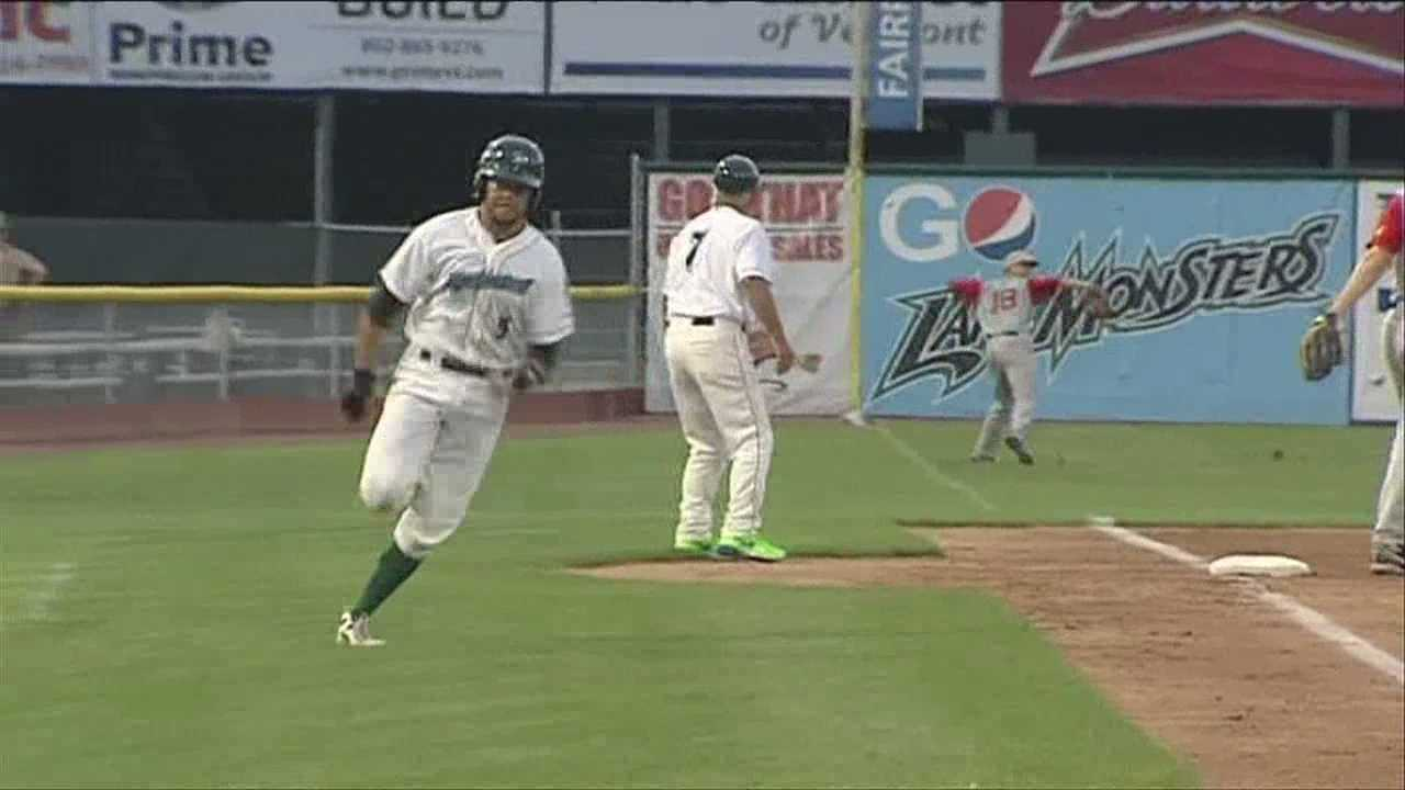 Lake Monsters end home stand, in walk off fashion.
