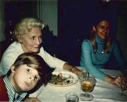 I learned card games early on. My grandmother was a master bridge player. This was a Thanksgiving at her house in Bridgehampton and I must have been about 6. Great look we had going that day.